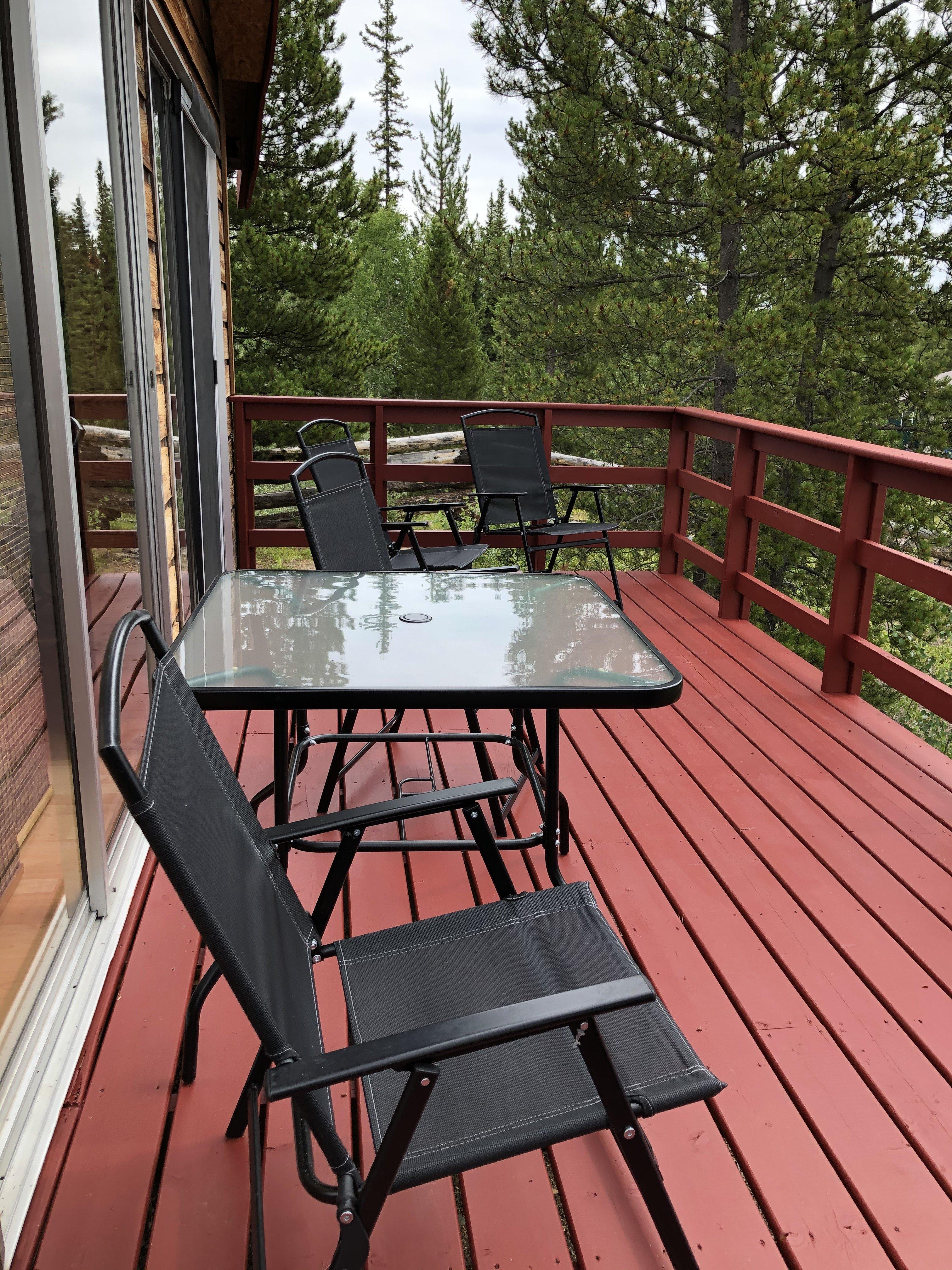 hilltop deck