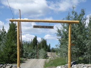 nimpo lake resort entrance