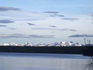 clear mountain views